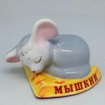 """Вся продукция - Фигура """"Мышка на сыре"""""""