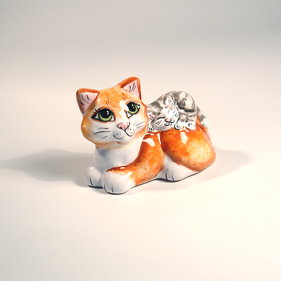 Вся продукция - Кошка с котенком
