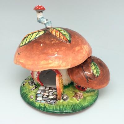 Вся продукция - Подсвечник-грибной домик