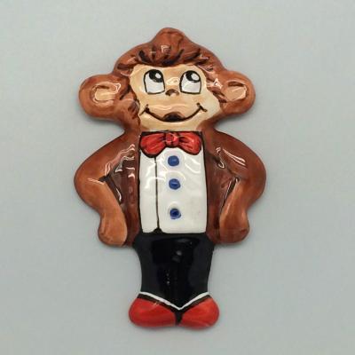 Вся продукция - Магнит-обезьянка (в ассортименте 4 штуки)