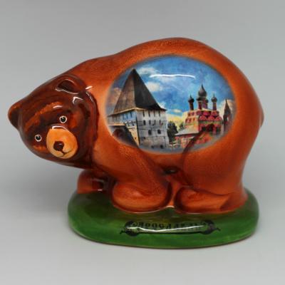 Вся продукция - Медведь с деколью (на любой город)