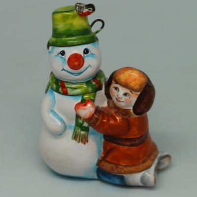 Вся продукция - Веселый снеговик