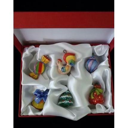 """Вся продукция - Набор """"Новогодние игрушки"""" в подарочной коробке"""